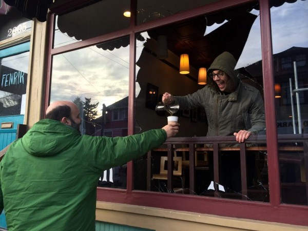 Vandals Strike SE Portland Roastery Cellar Door Coffee