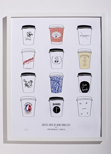 The Manhattan coffee print.