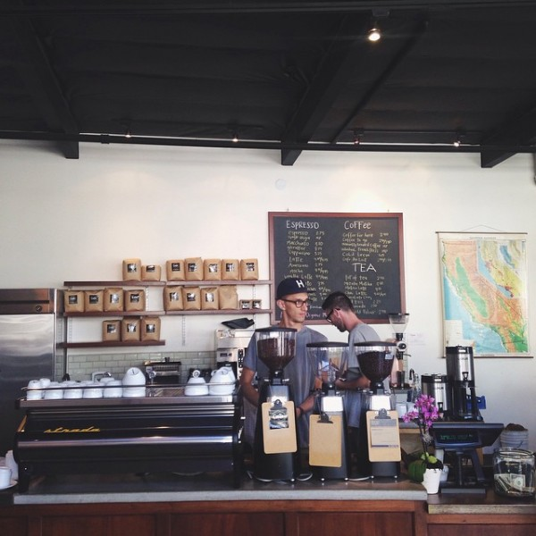 The existing Frencg Press Anacapa St. location in Santa Barbara. Facebook photo.