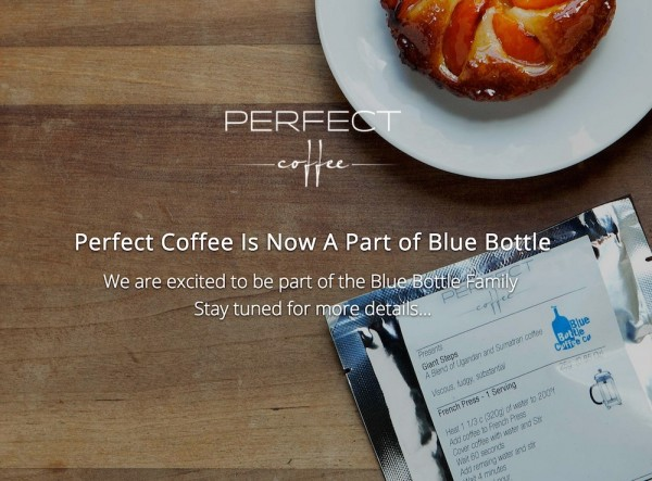 Blue Bottle to Begin Selling Pre-Ground Coffee Following Perfect Acquisition