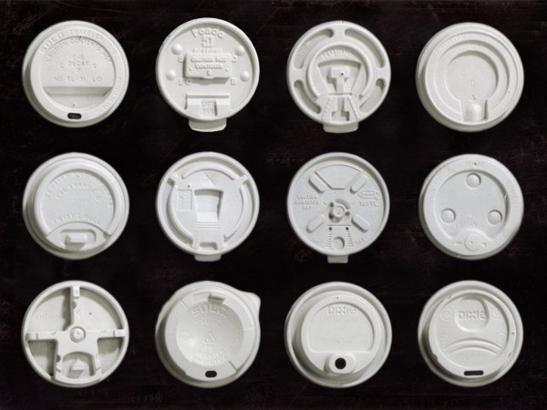 The Owner of World's Largest Coffee Cup Lid Collection on Consumerism and Design