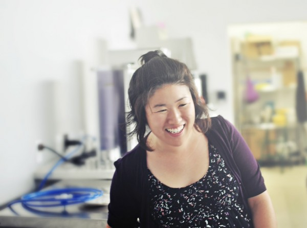 Annie Choi, owner of Found Coffee in Eagle Rock, Los Angeles. Photo by Amparo Rios