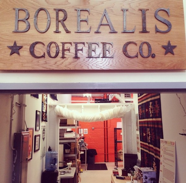 Borealis Coffee Roasters at the Lorraine Mills in Pawtucket Rhode Island