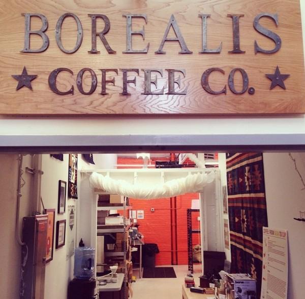 Borealis Coffee Roasters at the Lorraine Mills in Pawtucket Rhode Island