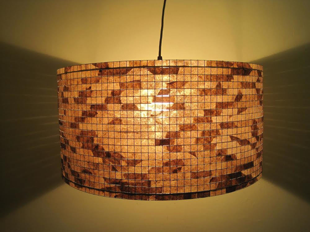 Lamp shades san antonio texas lamp design ideas check out these lamp shades made from used coffee filters daily aloadofball Images