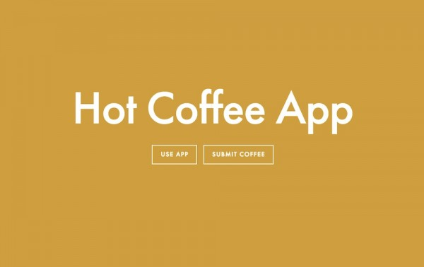 App Alert: Conversational Reviews from Multiple Search Angles with Hot Coffee App