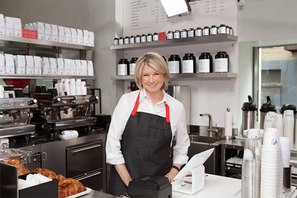 Martha Stewart Cafe New York