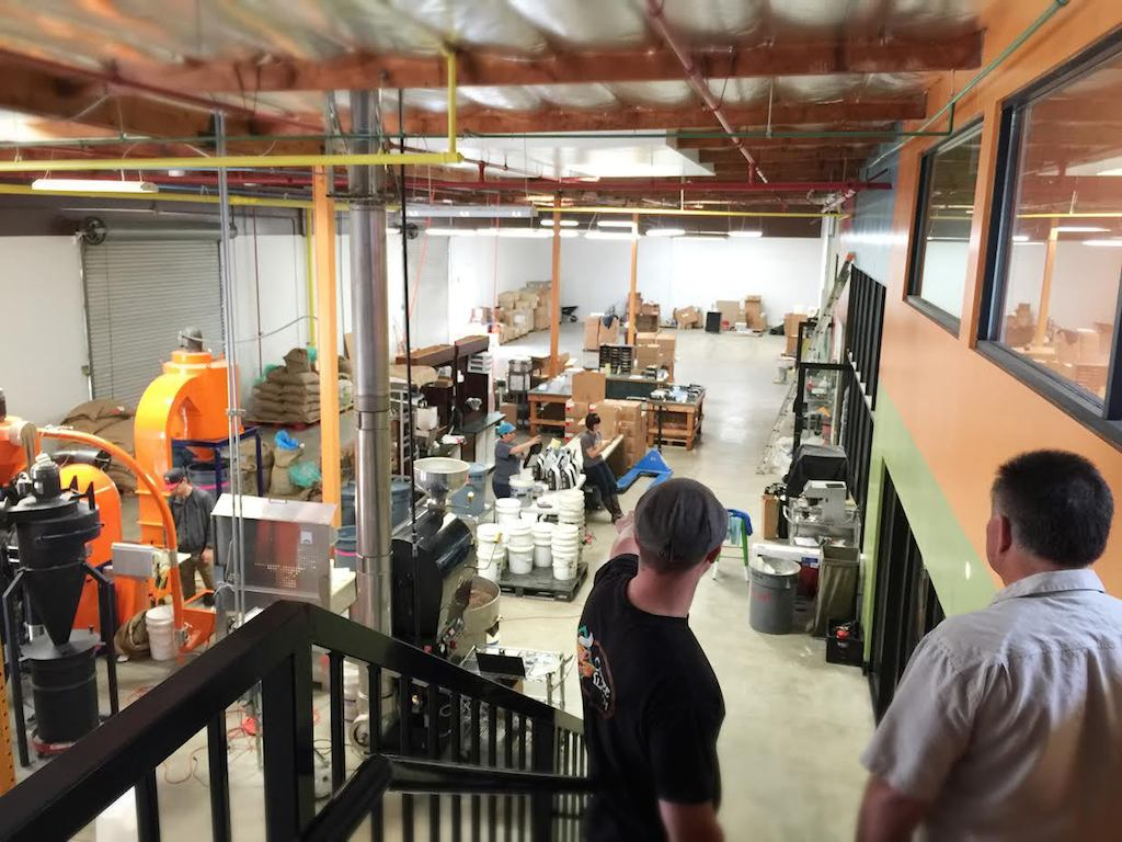 Socal s klatch coffee triples capacity with new roasting and