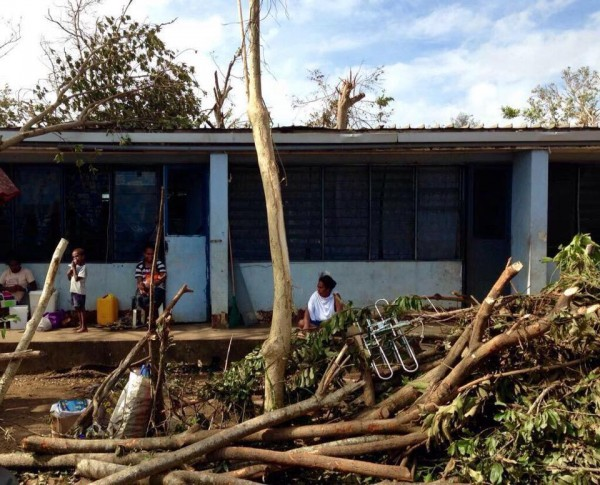 Cyclone Pam's Horrible Destruction of Lives and Coffee On Tanna Island, Vanuatu