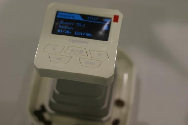 The CM100 Coffee Roast degree analyzer. Photo by Nick Brown/Roast Magazine.