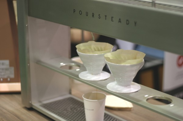 The Poursteady automatic pourover machine