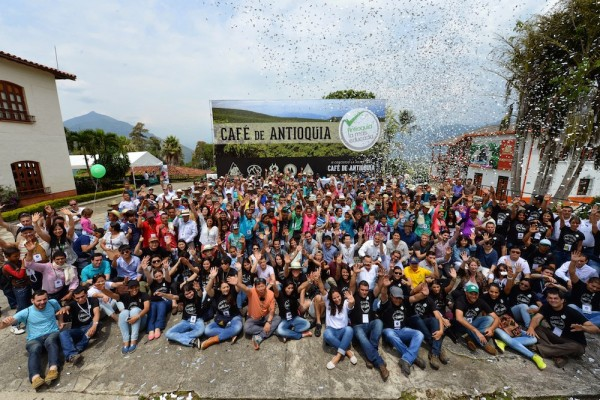 Participants at Antioquia's Best Cup - Producers & Buyers. Photo by Mark Shimahara.