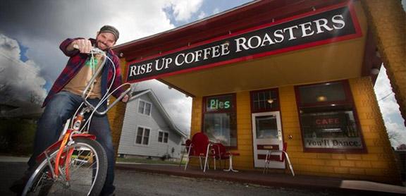 Tim Cureton of Rise Up.