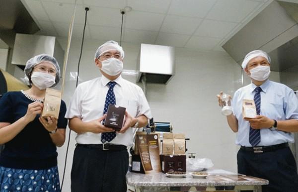 laboratory kopi luwak coffee