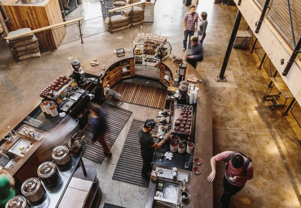 The existing Sightglass flagship. Photo by Sightglass Coffee Roasters.