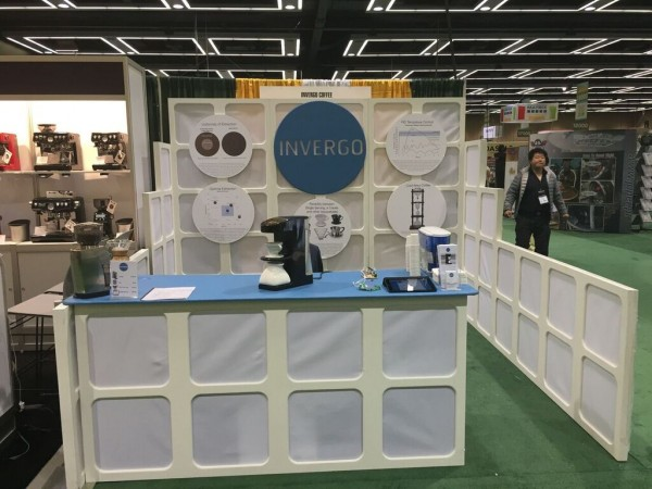 Invergo booth at SCAA