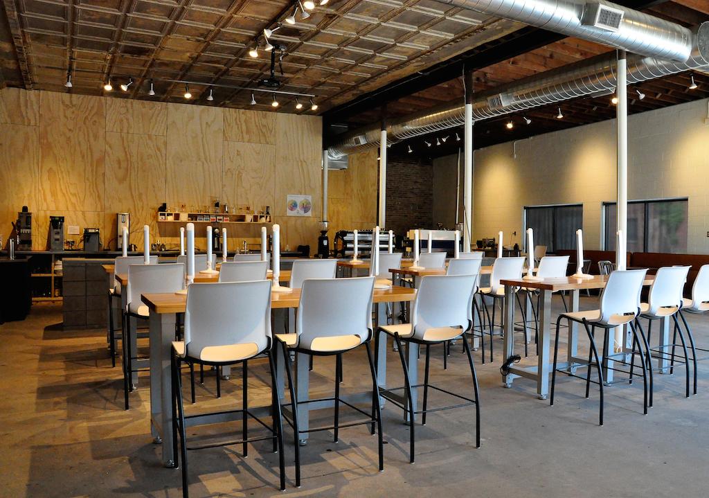 Inside Topeca Coffee Roasters New 2 500 S F Coffee Lab