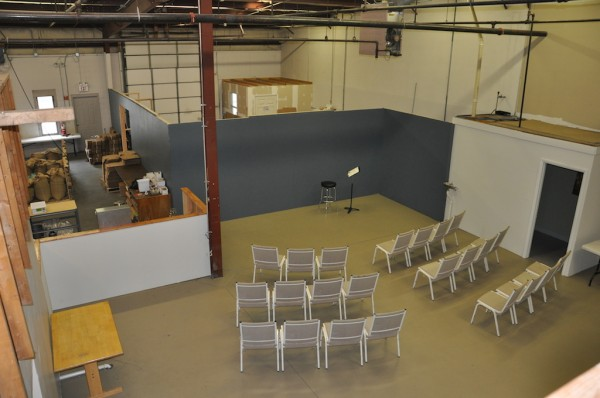 A large education and meeting space