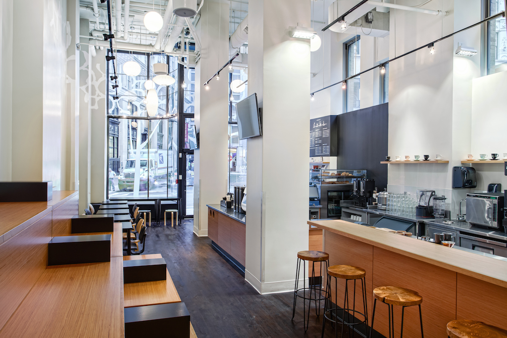 Ogawa Coffee Boston Shop Interior
