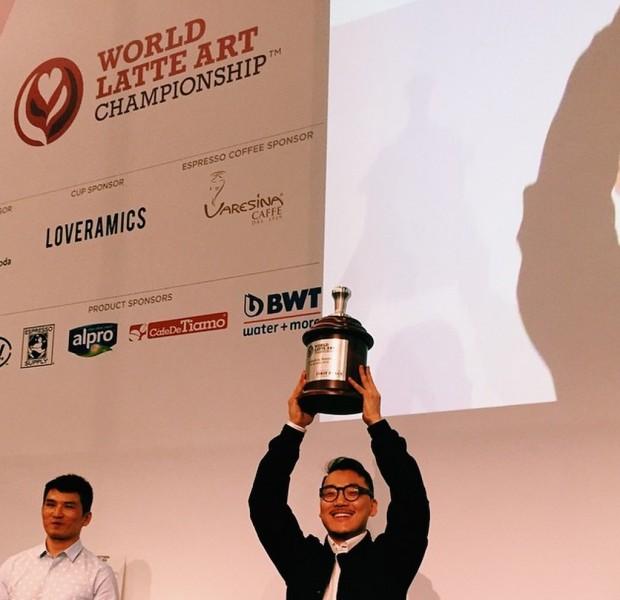Caleb Cha. Photo by World Coffee Events.