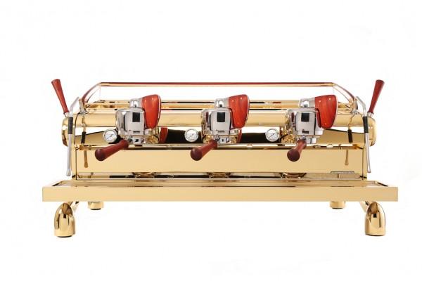 gold espresso machine