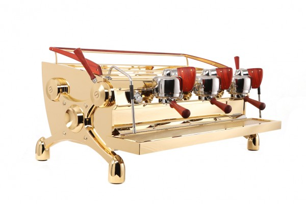Slayer Made a Frigging Gold Espresso Machine
