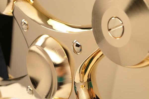 gold espresso plating