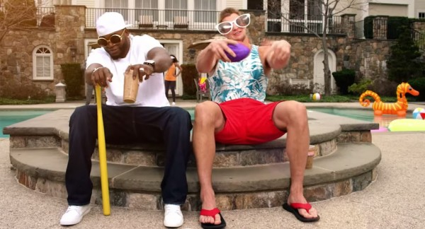 Marketing Beat: Gronk and Big Papi Poolside, Singing About Coffee