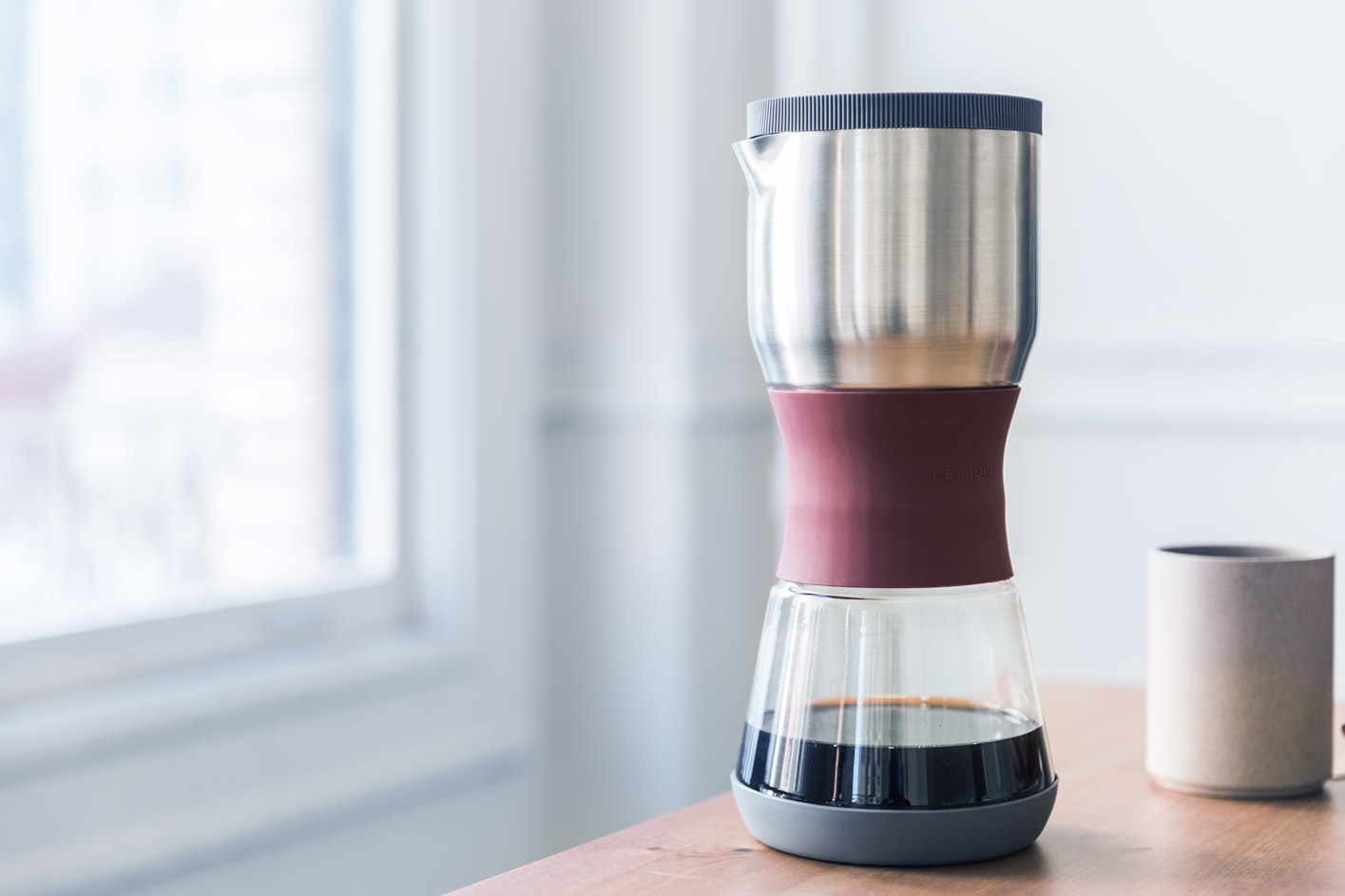 Compact Slow Drip Coffee Brewers Are Accumulating Fast Daily Iwaki Water Server 4 Cup The Duo Steeper Immersion Brewing With A Twist