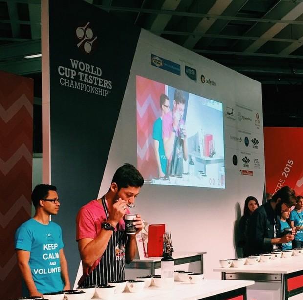 Juan Gabriel Cespedes. Photo by World Coffee Events.
