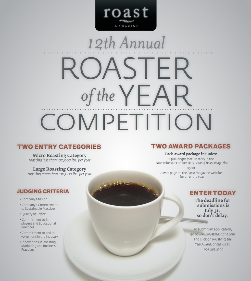 roaster of the year competition