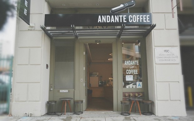 Andante Coffee Finds a Choice Spot in DTLA's South Park Lofts