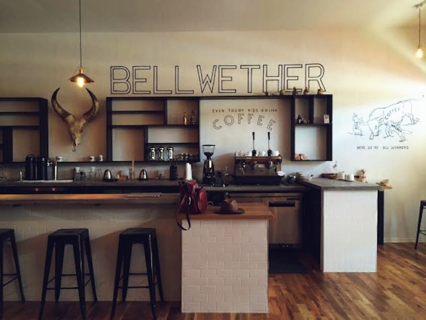 Bellwether Coffee in Denver. Photo by Rebecca Slaughter (@rebeccaslaughter).