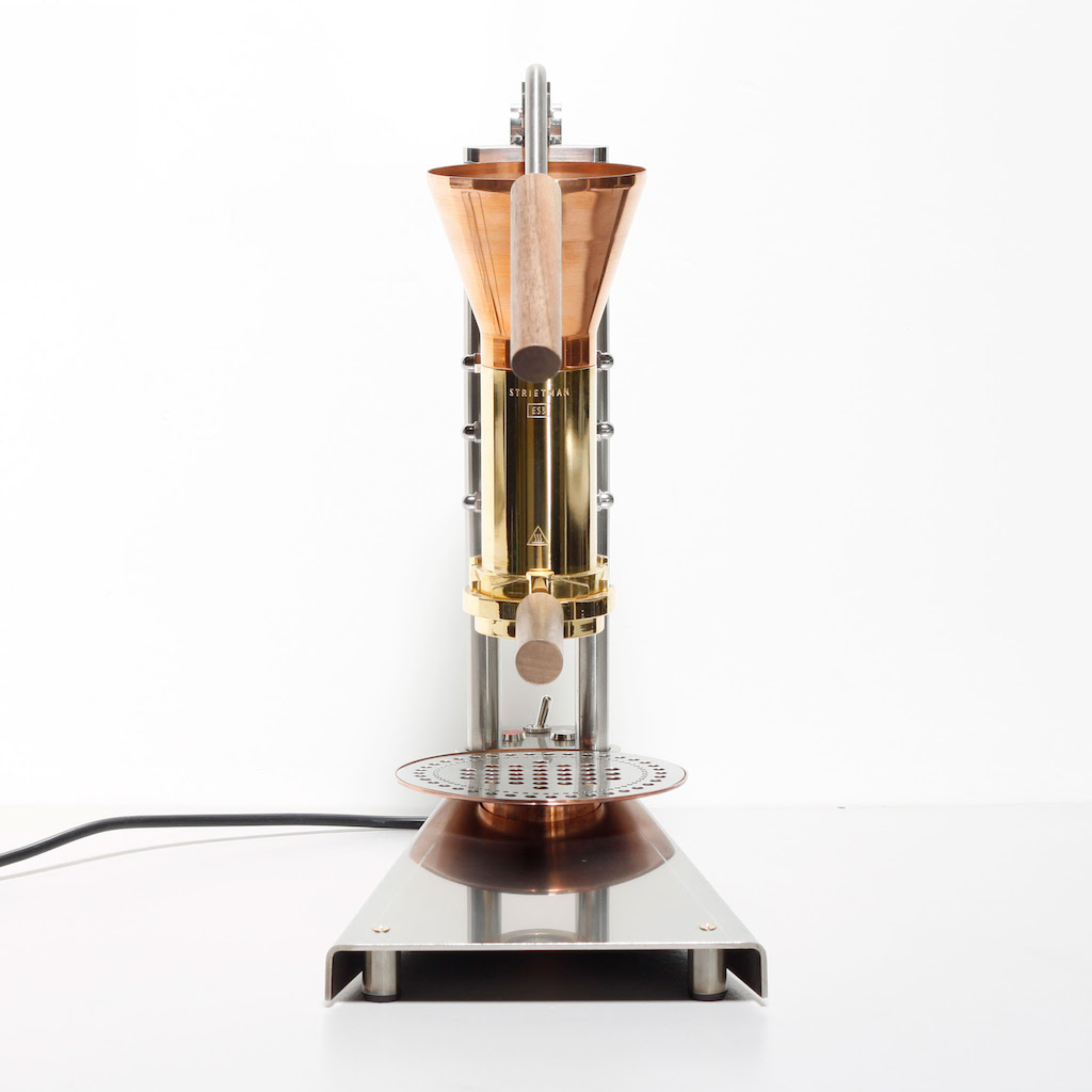 High End Office Coffee Maker : Strietman Announces the CT1, a New High-End Home Lever Machine Daily Coffee News by Roast Magazine