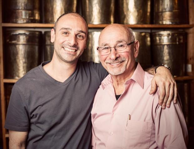 Hrag and Henry Kalebjian