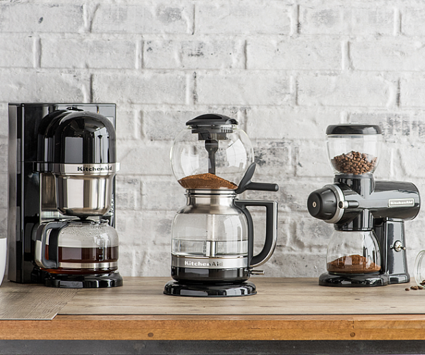 vac to the future kitchenaid unveils automatic siphon coffee kitchen aid craft coffee