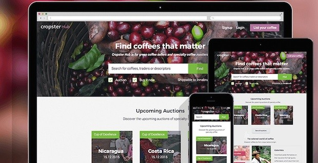 Cropster to Provide 2016 Cup of Excellence Auction Platform with New Green Trading Hub