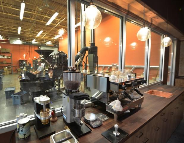 Inside the Kickapoo HQ in Viroqua. Photo courtesy of Kickapoo Coffee.