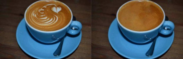 photo used in the latte art study