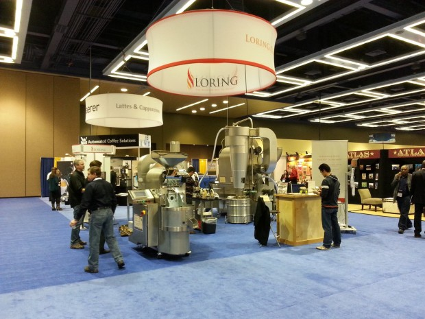 Loring at the 2014 SCAA Expo in Seattle.