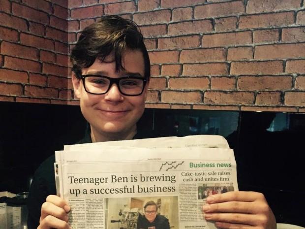 Teenage Roastland: 14-Year-Old Starts the Profile Coffee Company