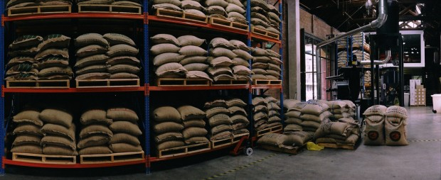 coffee roaster warehouse