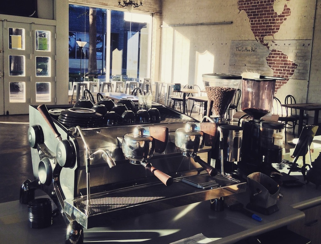 rve coffee opens dream roastery and caf in lafayette la - Expansive Cafe 2015