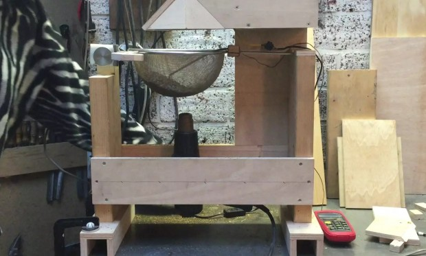 Shake, Not Stir: A Fluid Bed Roaster From the Ground Up