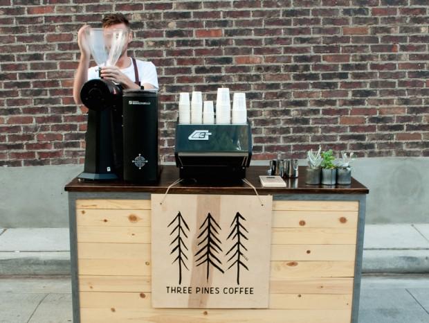 One Cart, Two Baristas: Three Pines Coffee Serves Salt Lake City