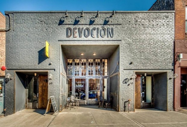The Devoción USA flagship in Williamsburg. Facebook photo.