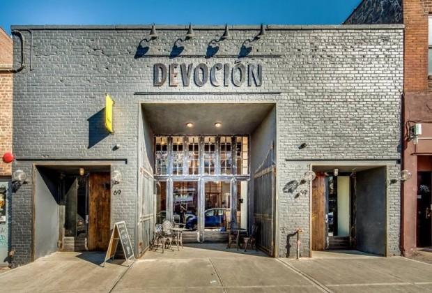 The Devoción USA flagship in Williamsburg. Facebook photo.