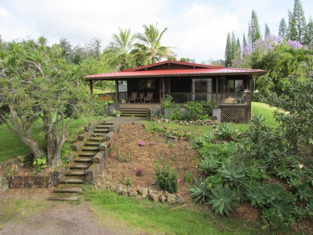 The main house at the Kona Earth farm. All photos courtesy of Kona Earth.