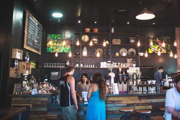 Inside Peixoto Coffee