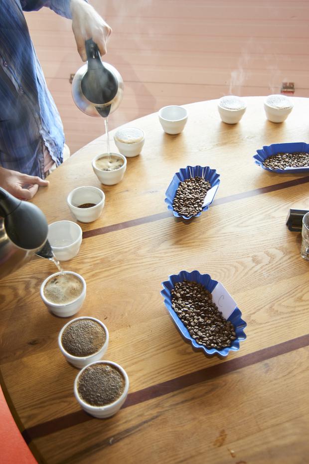 Share Coffee Roasters- Hadley, Mass. Photo by Dominic Perri.
